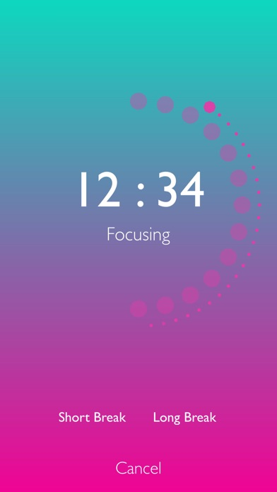 Screenshot #3 pour FocusDots: Tomato Timer