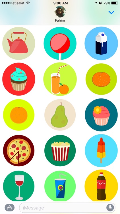Food Stickers Pack screenshot-3