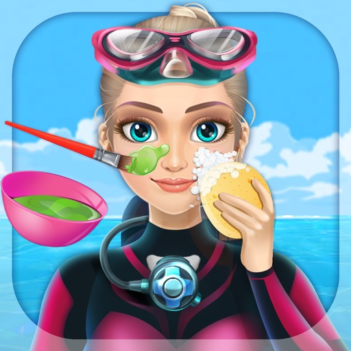 Princess Diving & SPA - Free Girls Game icon