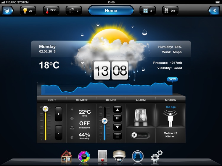 FIBARO for iPad screenshot-0