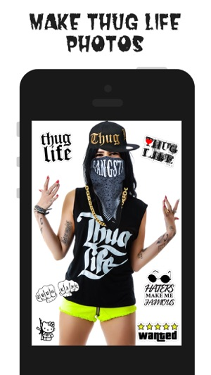 Thug Life Maker Create Funny Videos Photos On The App Store