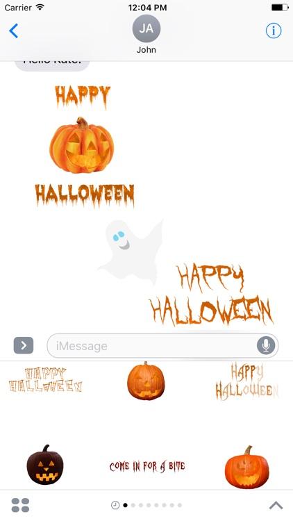 Halloween Stickers - Stickers for iMessage screenshot-0