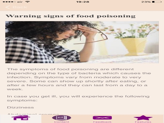Symptoms Of Food Poisoning App Price Drops