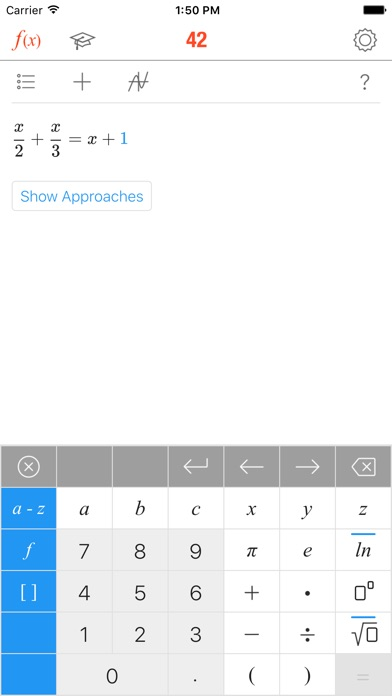 Screenshot for Math 42 in Germany App Store