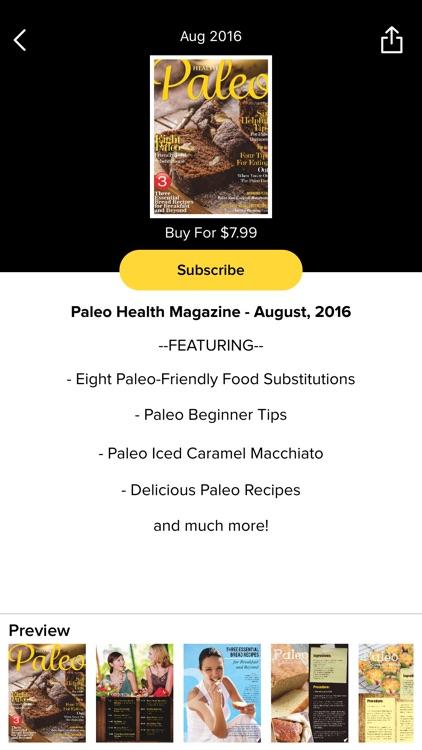 Paleo Health Magazine