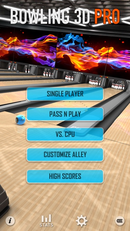 Bowling 3D Pro Plus screenshot-2