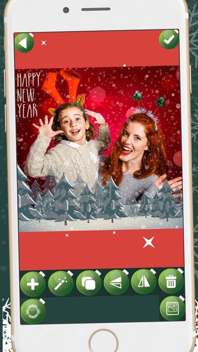Descargar Feliz año nuevo marcos - Navidad editor de fotos para Android