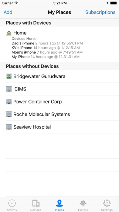 Device Locator: Track and Locate Family Members and Lost or Stolen iPhones Screenshots