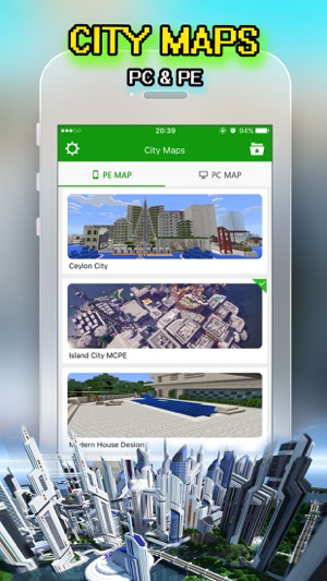 Best City Maps for Minecraft PE : Pocket Edition on the App Store