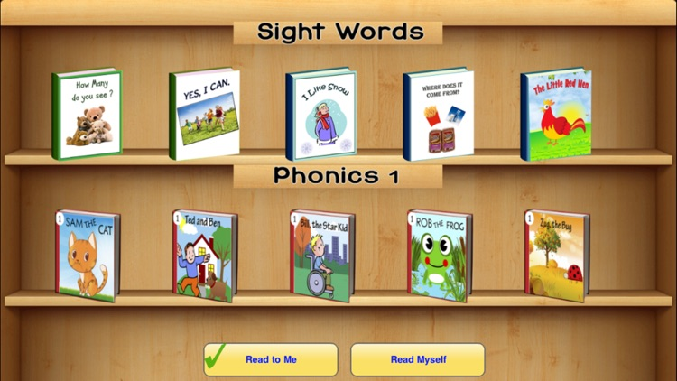 Kindergarten Phonic Reading Short Stories for kids screenshot-0