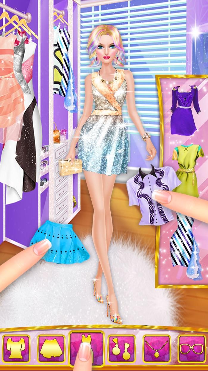 Celebrity Hair Stylist - Summer Hairstyle Salon Screenshot
