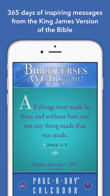 365 Bible Verses-A-Year Page-A-Day Calendar 2017 screenshot-2
