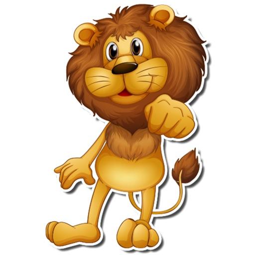 狮子Happy Lion iMessage Stickers