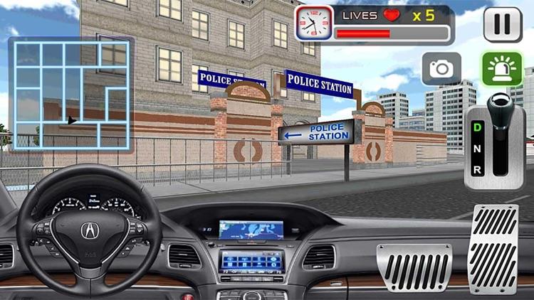3D Police Car Driving Simulator Games screenshot-3