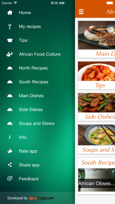 African Food Recipes - best cooking tips, ideas Screenshot