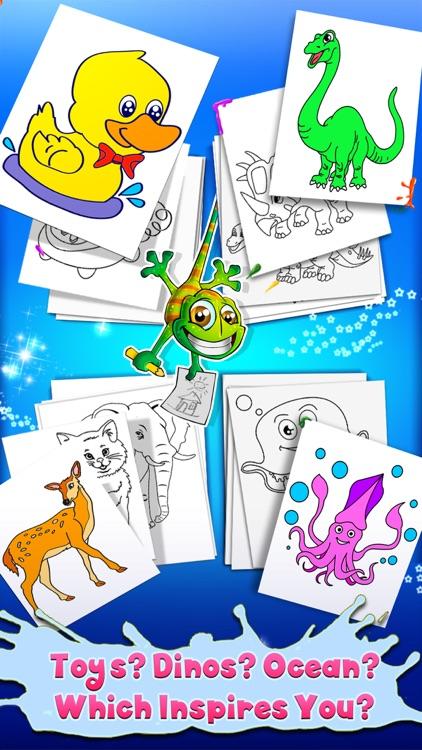 Kids Coloring Book - draw, color & paint studio screenshot-4