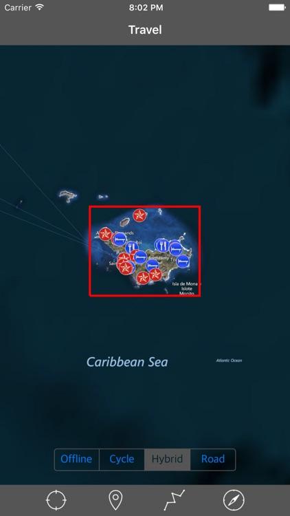 SAINT BARTHELEMY (St. Barts) – Offline Navigator
