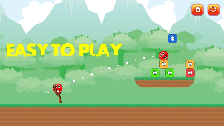 Red Ball Knock Down screenshot-2
