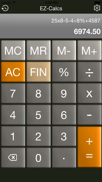 Simple Calculator by EZ-Calcs screenshot-3