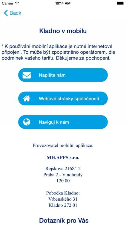 Kladno v mobilu screenshot-4