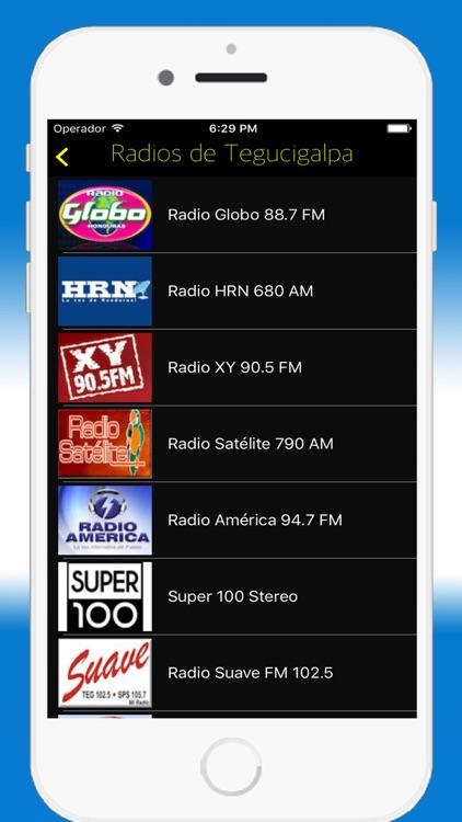 Radio Honduran FM AM - Live Radios Stations Online