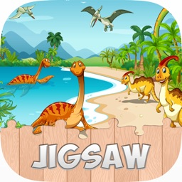 Toddler Animal Puzzle Dinosaurs HD