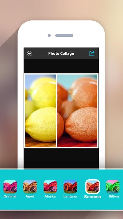 Photo Collage HD Pro – Pic Frame Maker Grid Editor screenshot-4