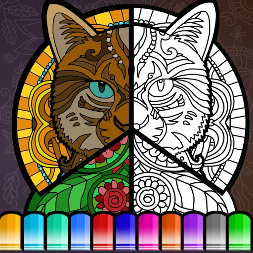 MultiColor Therapy - Coloring Book for Adults Art