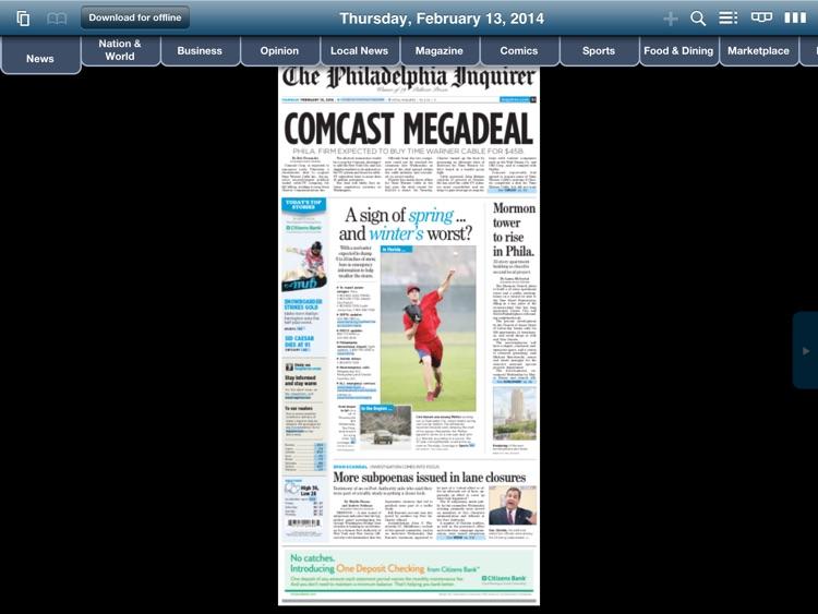 The Philadelphia Inquirer Replica - NJ Edition