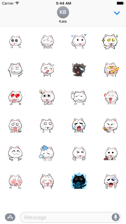 Happy Cat - Animated Stickers And Emoticons
