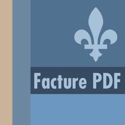 Facture Québec PDF | Application pour travailleur autonome avec signature et TPS et TVQ à jour