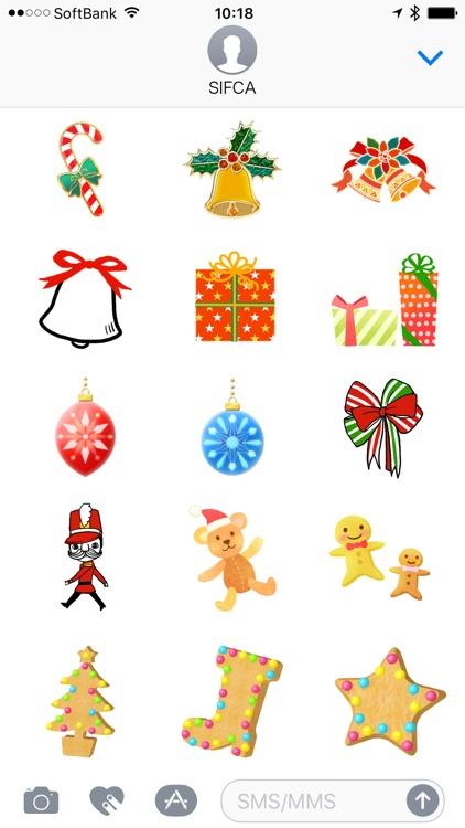 Happy Christmas Stickers - Emoji TOKYO