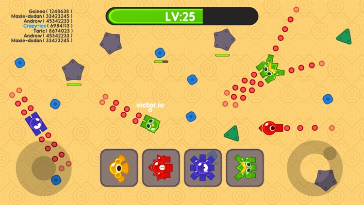 Tank.io War - Multiplayer Mobile Online Games screenshot-3