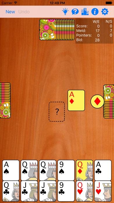 Pinochle Plus review screenshots