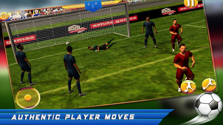 Mobile Soccer 2017 screenshot-0