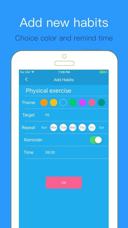 Habits Tracker - Build healthy lifestyles