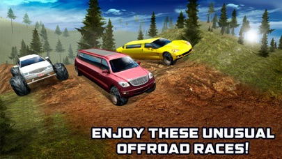 Offroad Hill Limo Driving Simulator 3D screenshot one
