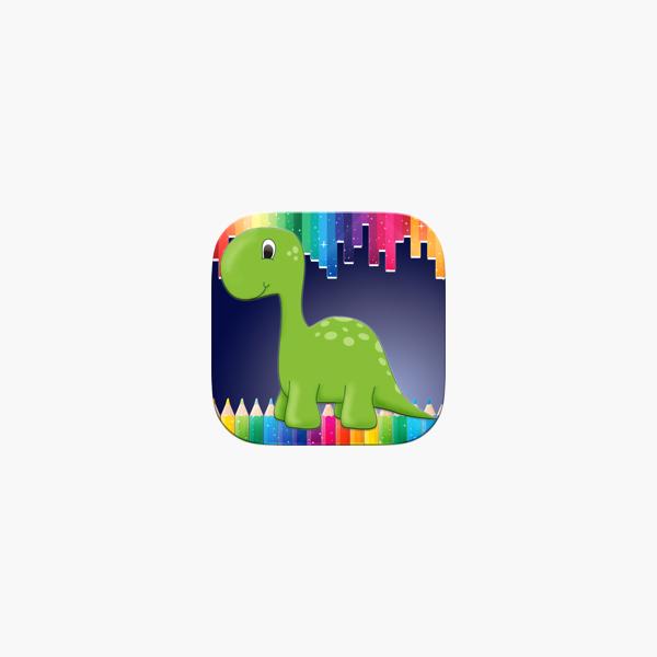 Dino Coloring Book - Los dinosaurios juego en App Store