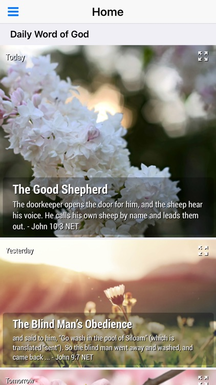 Daily Word of God - Daily Devotional