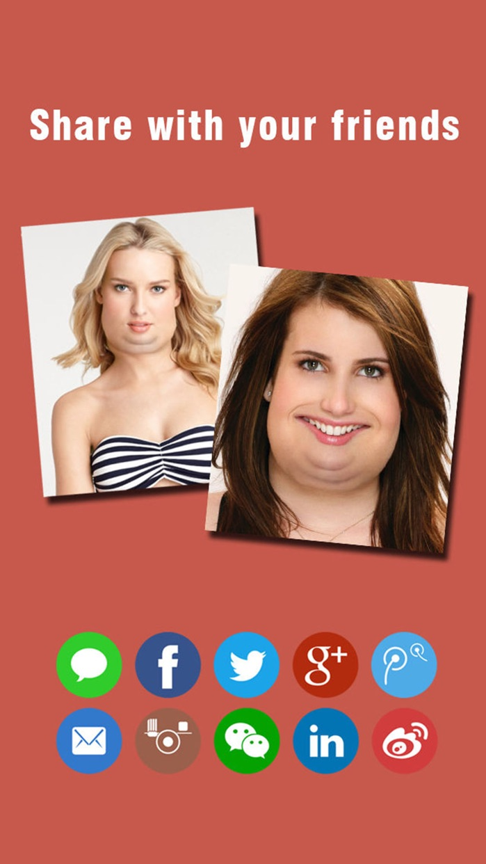 Make Me Fat -Crazy Funny Plump Face Changer Booth Screenshot