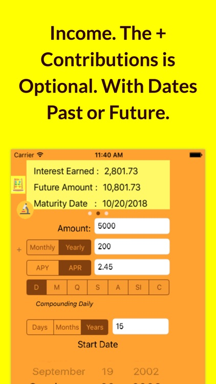 Illuminating Compound Interest Calculator