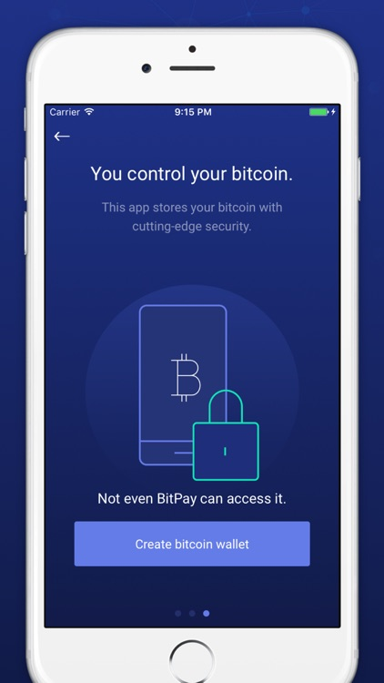BitPay – Secure Bitcoin Wallet screenshot-3