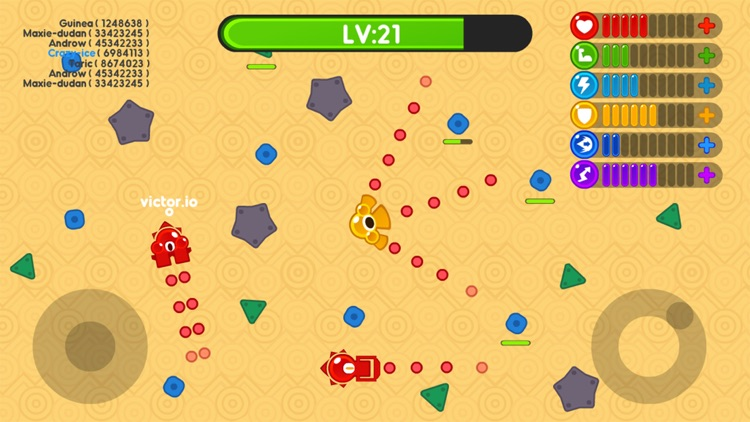 Super Tank.io - Free Tank war Online games screenshot-2