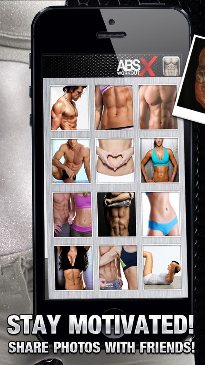 Ab Workout X FREE+ Six-Pack Core Abdomen Exercises Screenshot