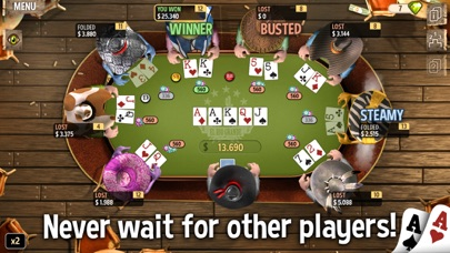 Governor of Poker 2 - Holdem screenshot two