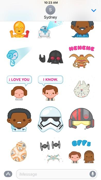 Star Wars Stickers Screenshot