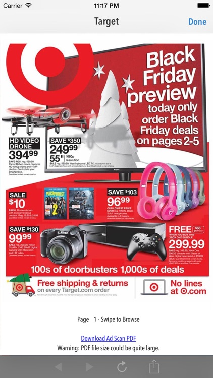 TGI Black Friday 2017