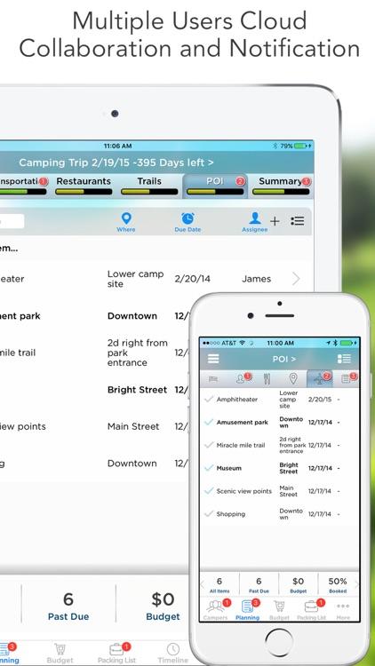 Pro Camping Planner screenshot-4