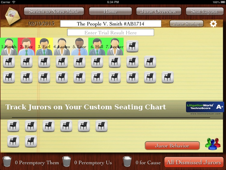 iJuror screenshot-0