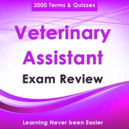 Veterinary Assistant Test Bank App-Terms & Quizzes